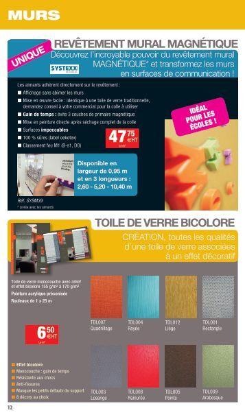 Chambres froides monobloc - Revetement mural magnetique ...