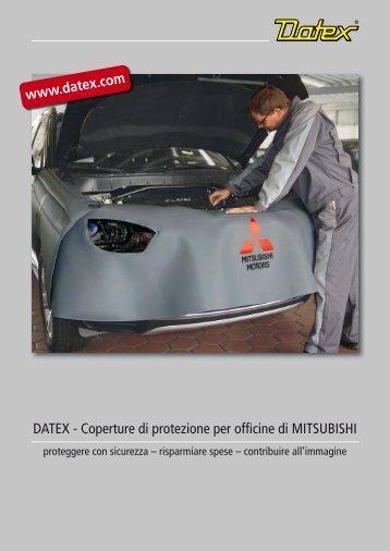 DATEX - Coperture di protezione per officine di MITSUBISHI