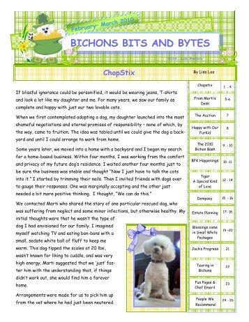BICHONS BITS AND BYTES - Bichon FurKids Rescue