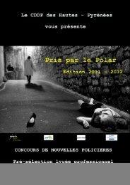 PRIS PAR LE POLAR édition 2011-2012 - Cndp