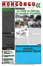 Journal Mongongo 41 - Stanleyville