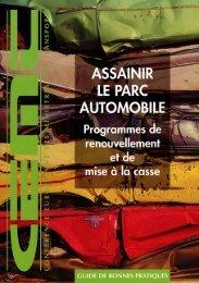 Assainir le parc automobile - International Transport Forum