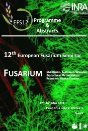 EFS12- Book of abstracts - Contact