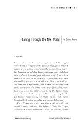 Falling Through the New World