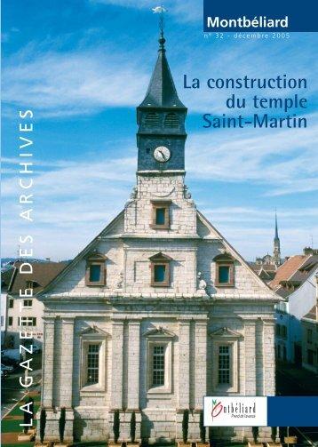 Gazette n°32 - Montbéliard