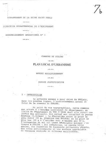 Notice : télécharger [.pdf 612 Ko] - Ville de Stains