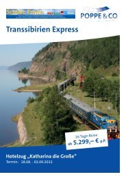 Transsibirien Express - Columbus-Essen