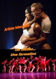Artiste Interprète 2012/2013 - Epsedanse