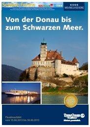 Von der Donau bis zum Schwarzen Meer. - Columbus-Essen