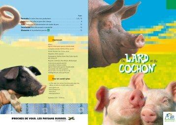 Du lard et du cochon