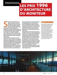Le Moniteur - janvier 1997 - Archives nationales