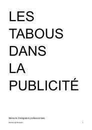 Mémoire d'intégration professionnelle. - Archive-Host