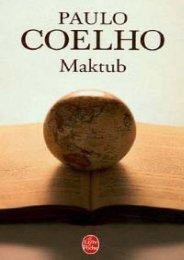 Coelho, Paulo - Maktub - Bibliothèque
