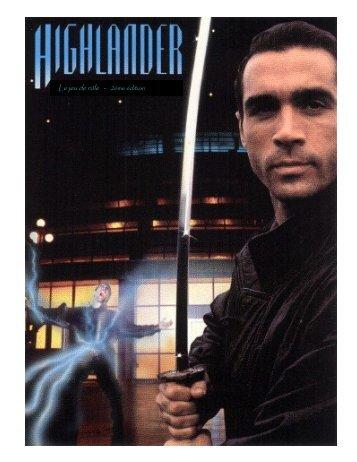 Highlander 2ème édition révisée