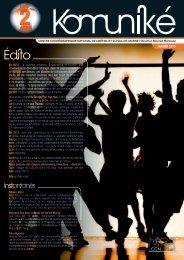JANVIER 2013 En 2012 : 2 nouvelles créations, 5 spectacles en ...