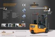 Fiche technique (Format PDF) - Leader Forklift