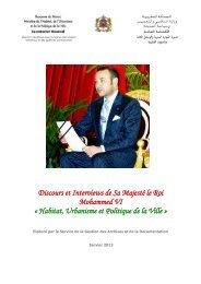 Discours et interviews de Sa Majesté le Roi Mohamed VI - Agence ...