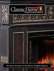 The Finest Furniture in the Electric Fireplace Industry