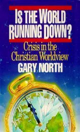 Is The World Running Down?