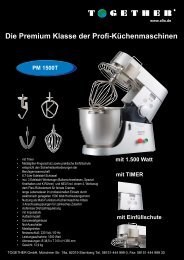 PM 1500T - Together GmbH