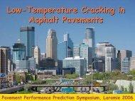 Low-Temperature Cracking in Asphalt Pavements - Petersen ...
