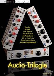 ABO-AKTION ZUM KENNENLERNEN: 3 ... - Analog Audio Gmbh