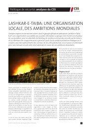 lashkar-e-taiba - Center for Security Studies (CSS)