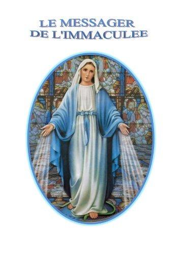 Juin 2012 - Le Messager de l'Immaculée n° 104 - La Porte Latine