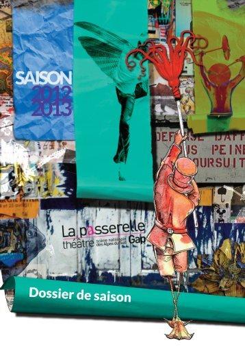 DOSSIER DE SAISON site - Théâtre La passerelle, scène nationale ...