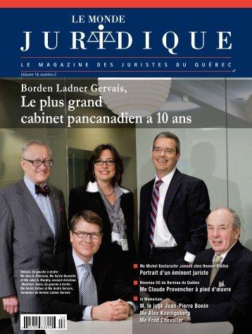 Version PDF - Le Réseau juridique du Québec