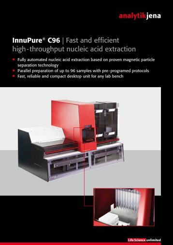 Innupure® C96 | Fast and efficient high ... - Analytik Jena AG