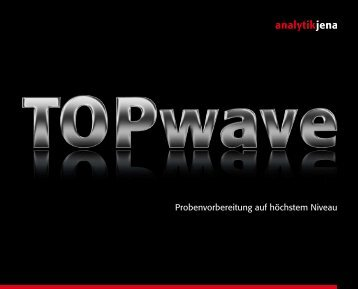 Broschüre Topwave - Analytik Jena AG