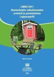 LINKKI 2011 - Neuvontatyön vaikuttavuuden arviointi ja parantaminen