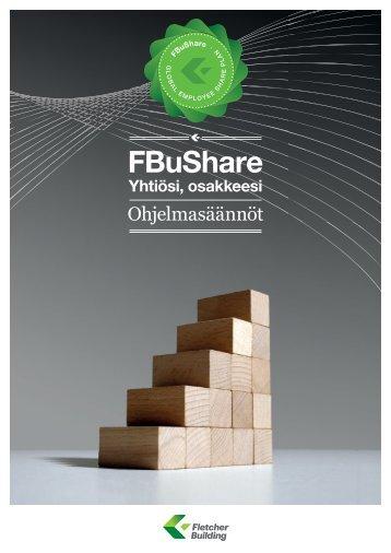 FBuShare Ohjelmasäännöt – Suomi