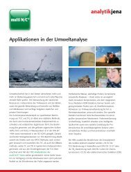 Flyer TOC (Umwelt) - Analytik Jena AG