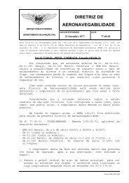DIRETRIZ DE AERONAVEGABILIDADE - Anac