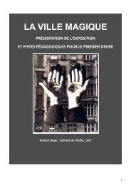 LA VILLE MAGIQUE - Inspection académique du Nord