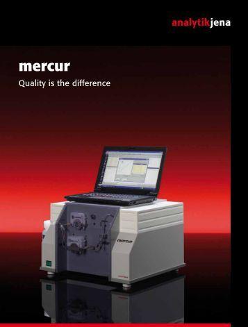 Atomfluoreszenz-Quecksilber-Analysator-mercur - Analytik Jena AG