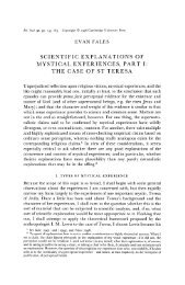 Scientific Explanations of Mystical Experiences, Part I - Common ...