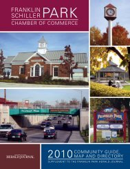 2010 Franklin Park/Schiller Park Community Guide - Pioneer Press ...