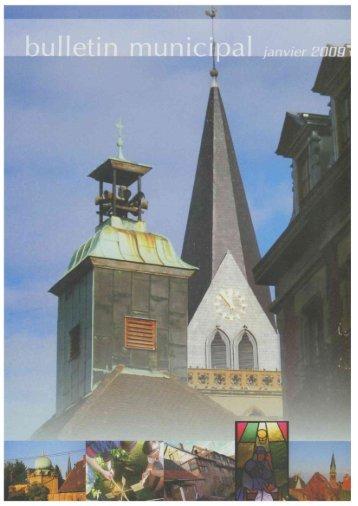 Bulletin Municipal - Janvier 2009 - Site officiel de la ville d'Ingwiller