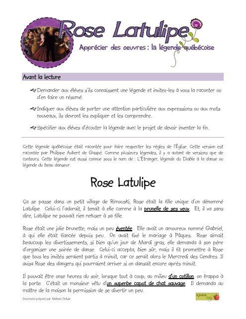Rose Latulipe - Le jardin de Vicky