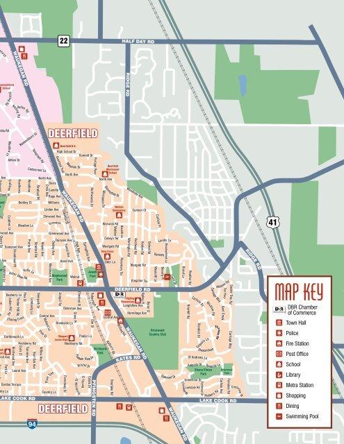 2011 Deerfield Bannockburn Riverwoods Community Guide