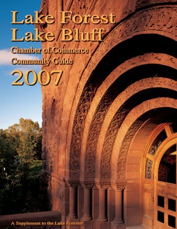 Lake Forest Lake Bluff Community Guide 2007 - Pioneer Press ...