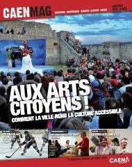 Caen magazine numéro 108 janvier 2011 - Ville de Caen
