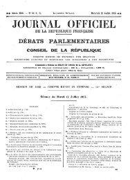Mardi 12 Juillet 1955 - Sénat