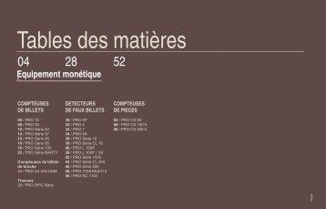 Tables des matières - Graphimailer