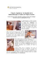 8 - Le I-Spa by Algotherm