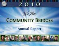 We Are - Community Bridges