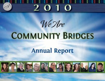 We Are - Community Bridges